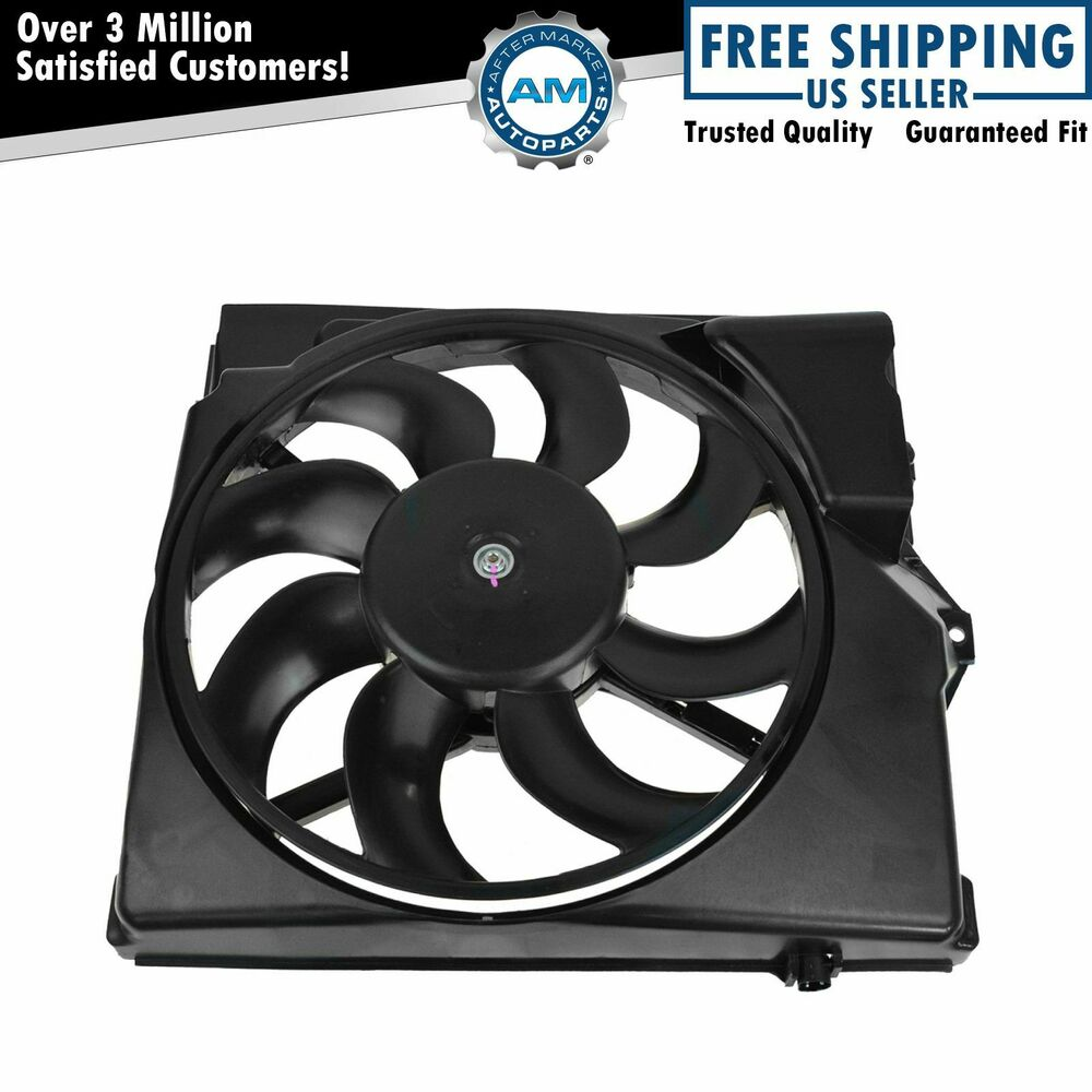 A C Condenser Cooling Suction Fan W Shroud 8 Blade For Bmw E36 3 Series Ebay