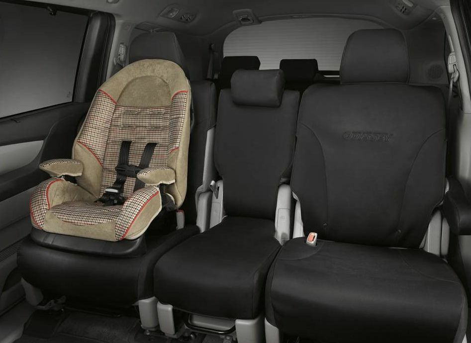 genuine oem honda odyssey 2nd row seat cover 2011 2017 08p32 tk8 100 ebay. Black Bedroom Furniture Sets. Home Design Ideas