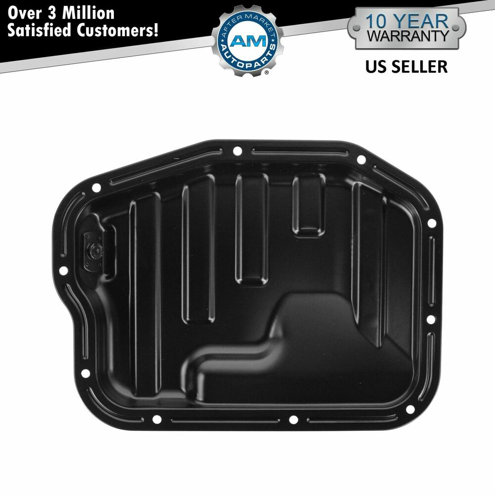 Engine oil pan steel lower for 02 06 nissan altima sentra for Motor oil for 2002 nissan altima