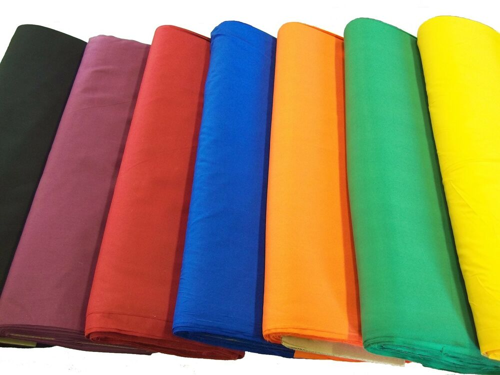 Broadcloth Fabric 45 Quot Cotton Polyester Blend Sold By The