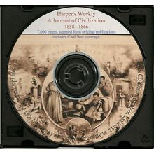 Harper's Weekly 1858 -1866 7,600 pages - HOLIDAY SALE