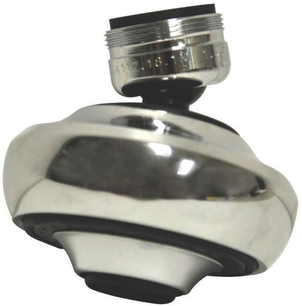 Swivel Aerator For Kitchen Faucet: NEW DANCO 10501 CHROME DUAL THREADED SWIVEL SPRAYER FAUCET