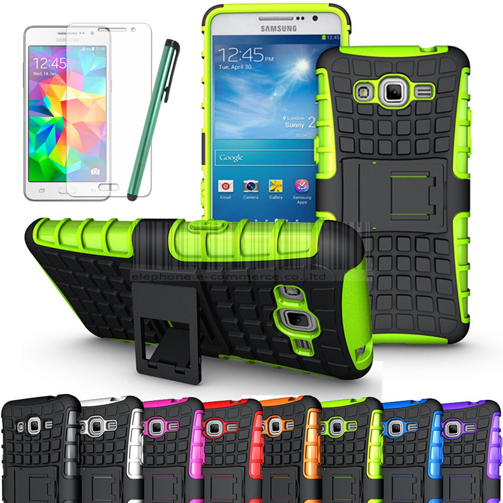 Protective Hybrid Hard Stand Case Cover For Samsung Galaxy ...