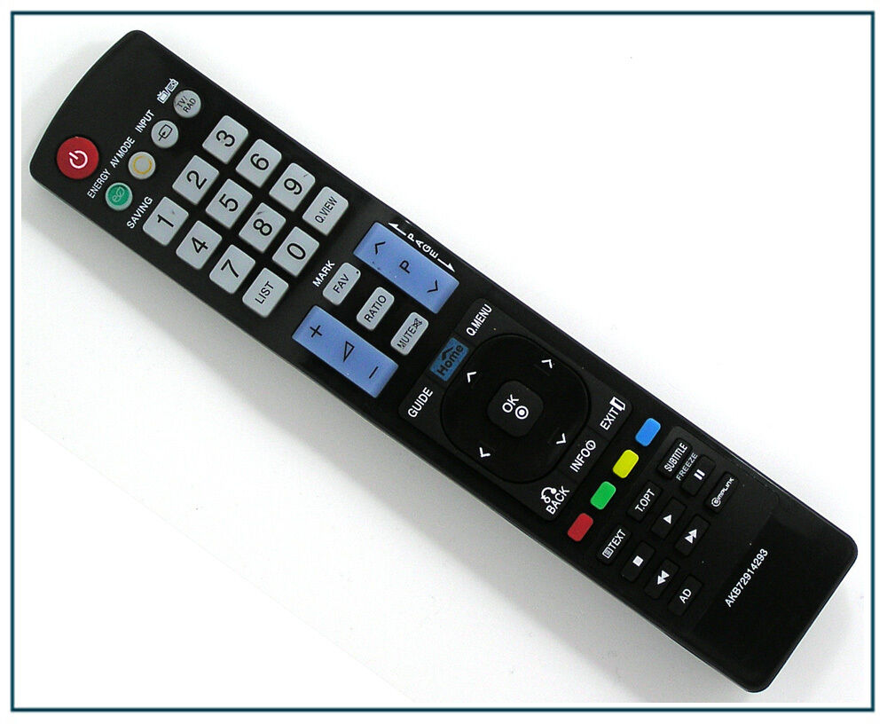 ersatz fernbedienung f r lg akb72914293 tv fernseher remote control neu ebay. Black Bedroom Furniture Sets. Home Design Ideas