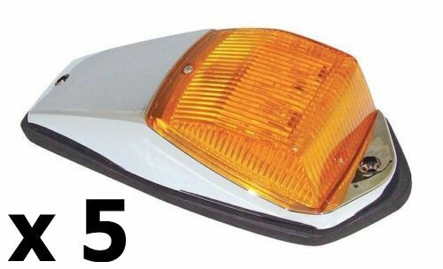 Semi Tractor Trailer Helping Inspect Lights : Semi truck led cab marker lamp lights set of ebay