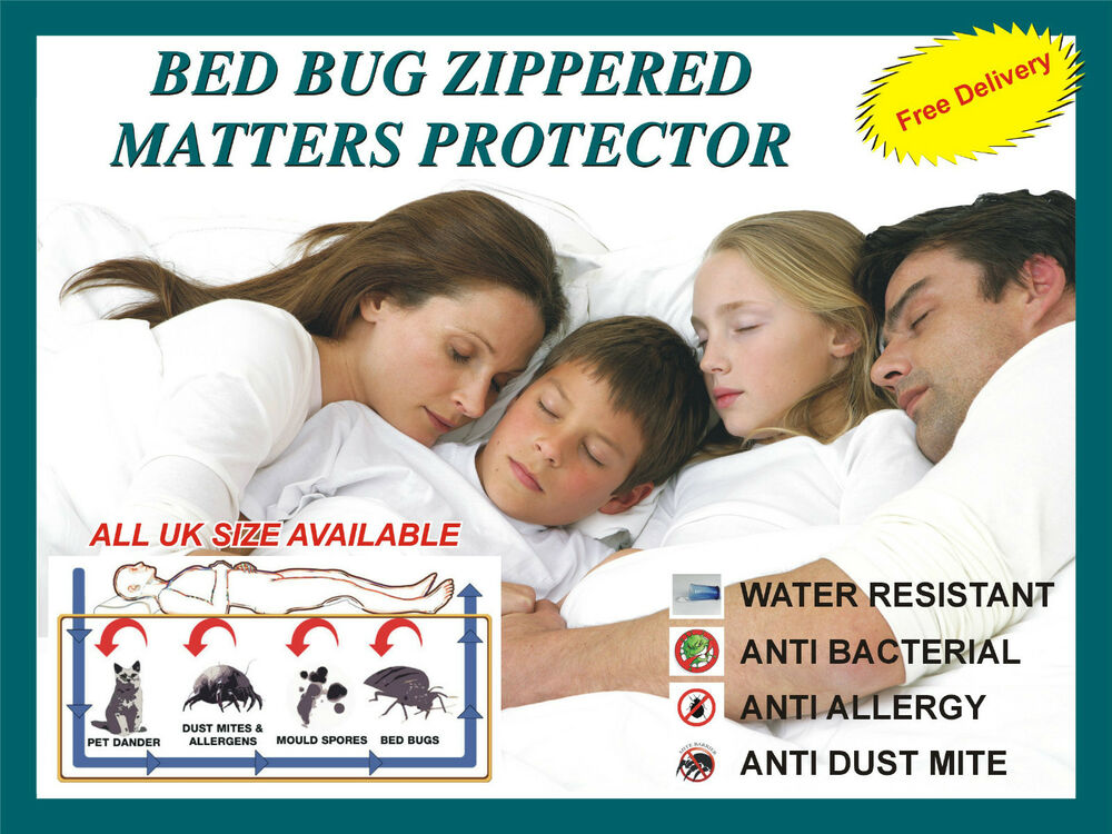 Lab Certified Anti Allergy Zipper Mattress Protector Cover