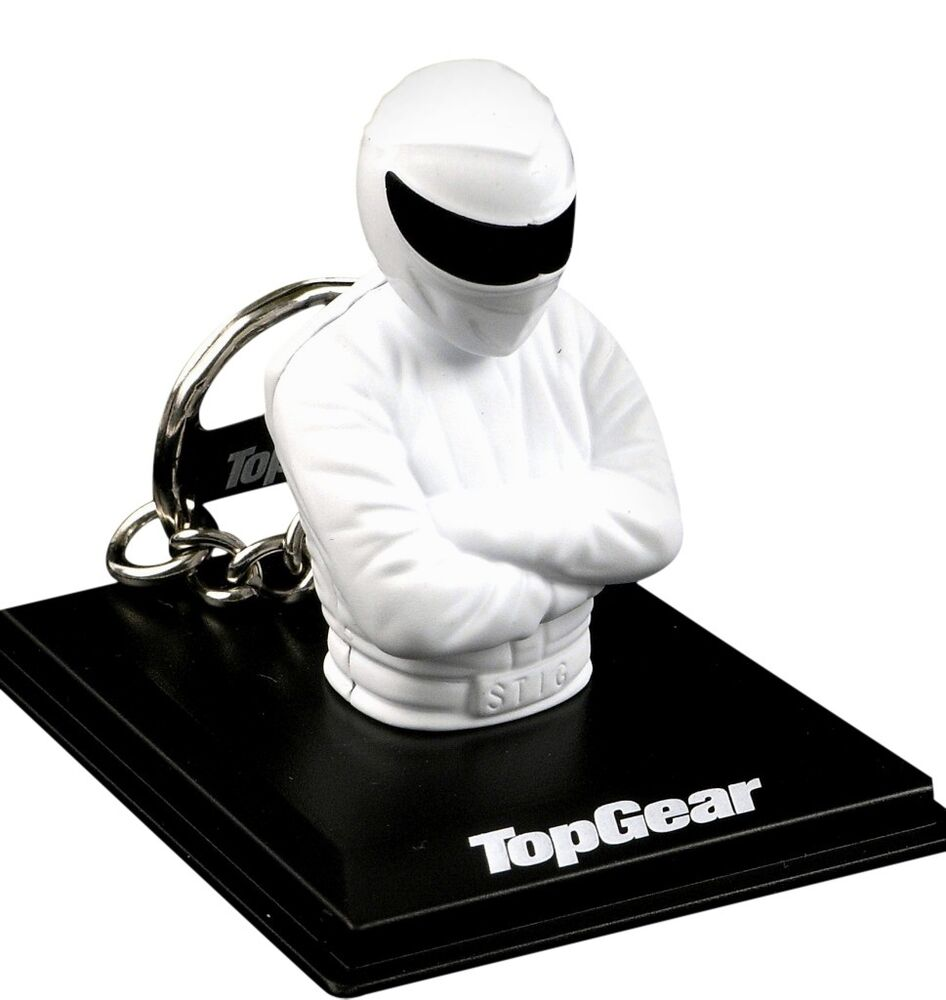 official top gear the stig car keyring in gift box ebay official top gear the stig car keyring in gift box ebay
