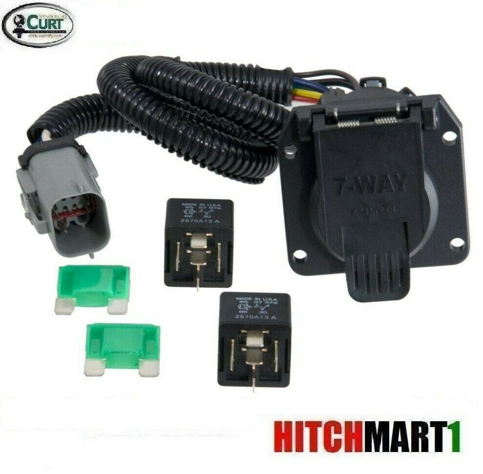 Curt Trailer Hitch Wiring 7 Way Plug For 1999