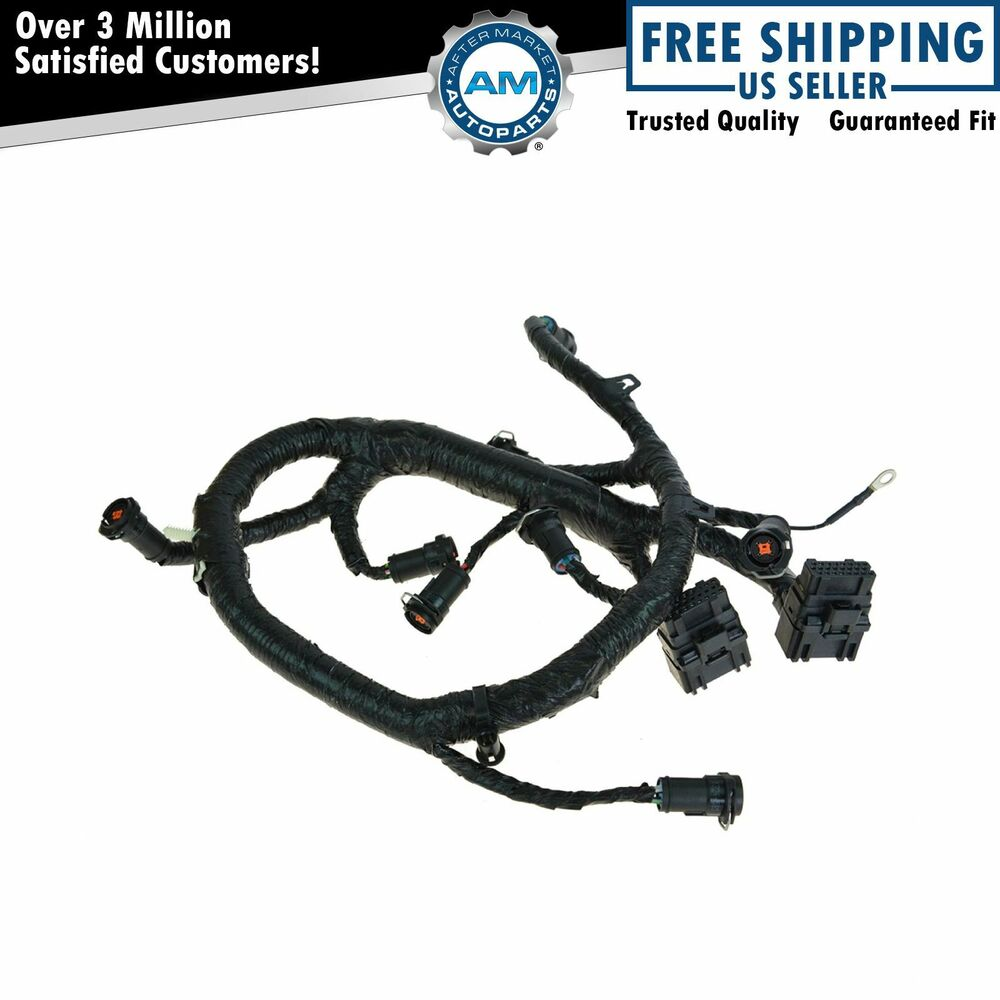 oem fuel injector wiring harness for 05 07 ford diesel Ford F-350 Wiring Diagram Ford Ignition System Wiring Diagram