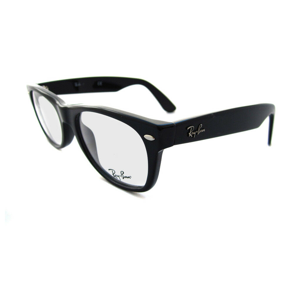 Ray-Ban Glasses Frames Eyeglasses 5184 2000 Shiny Black eBay