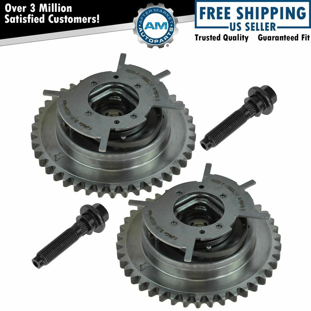 OEM Camshaft Phaser VVT Actuator Sprocket & Bolt Pair For