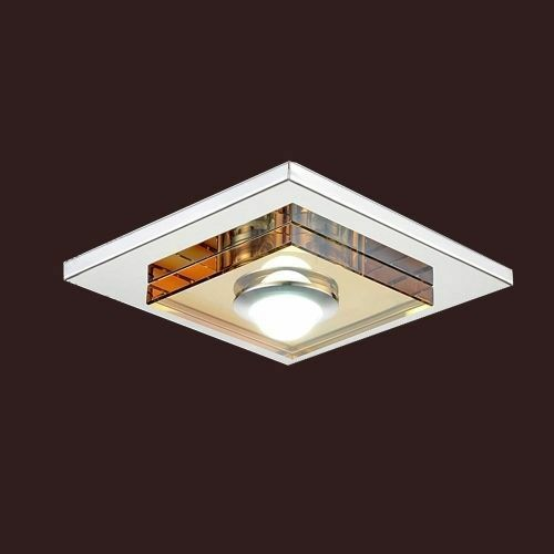 ceiling light pendant fixture flush mount square warm white ebay