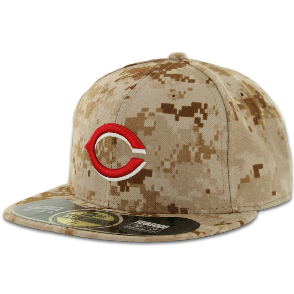 cincinnati reds alternate 2 camo new era 59fifty fitted. Black Bedroom Furniture Sets. Home Design Ideas