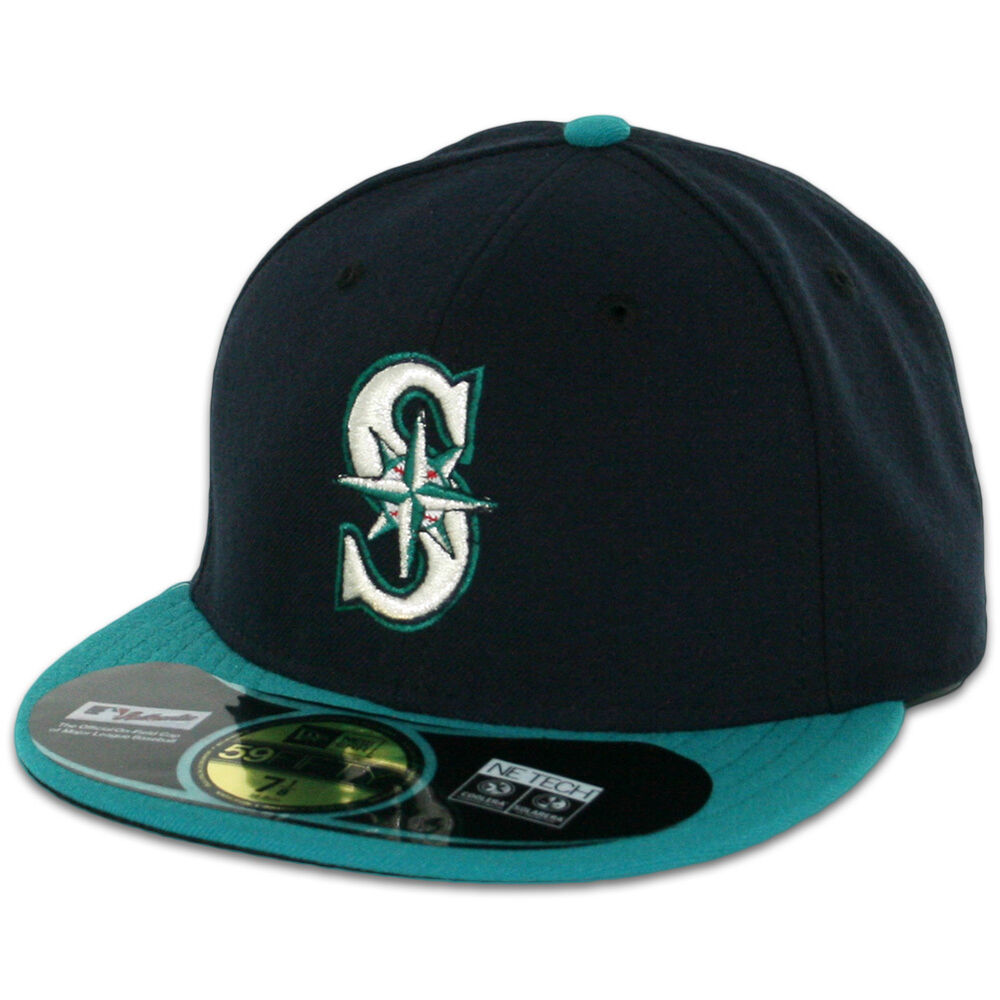 seattle mariners alternate navyteal new era 59fifty fitted