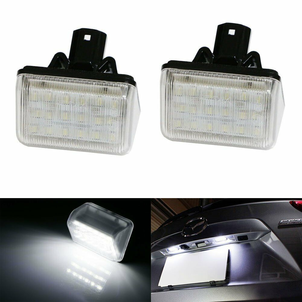Xenon White Oe Replace Led License Plate Lights For Mazda