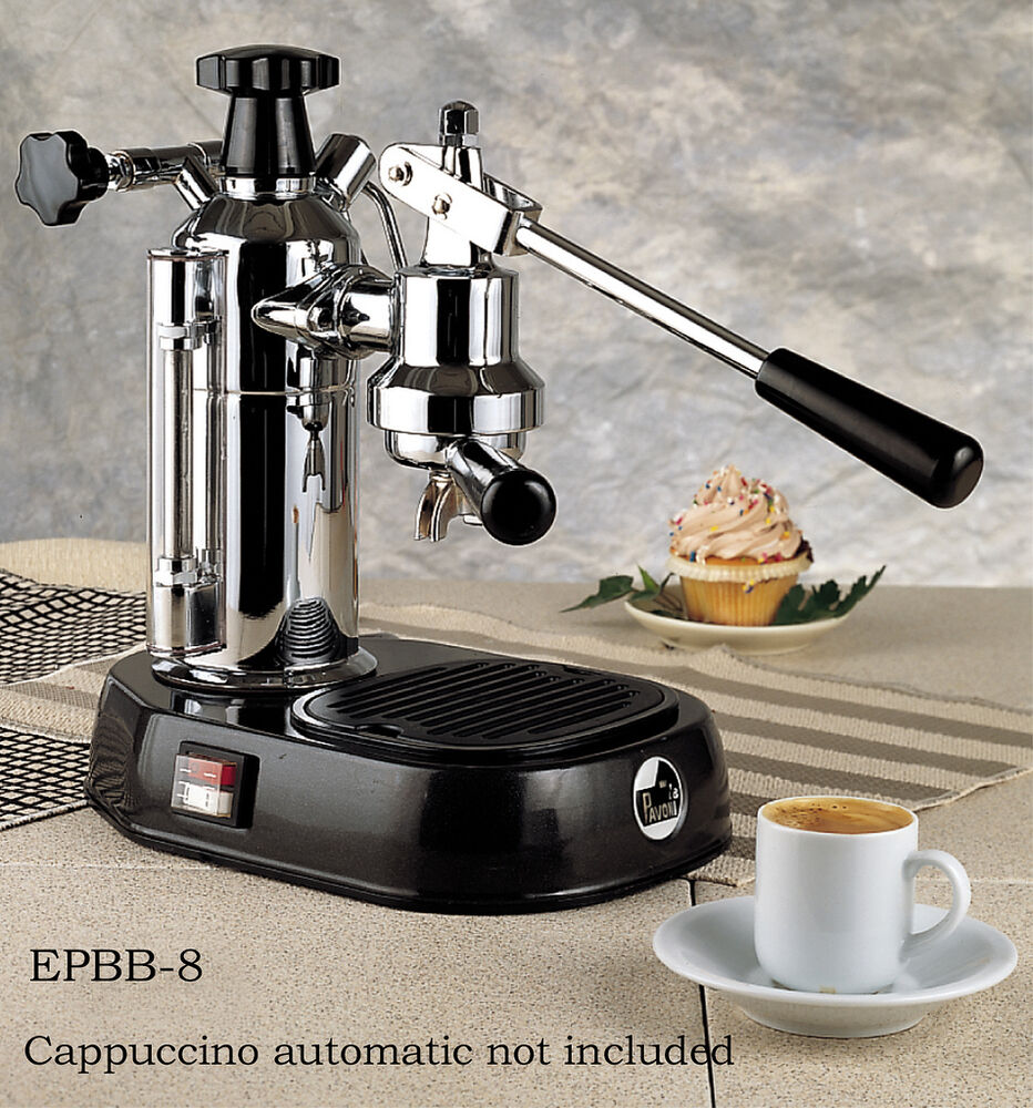 la pavoni europiccola manual lever espresso machine with. Black Bedroom Furniture Sets. Home Design Ideas