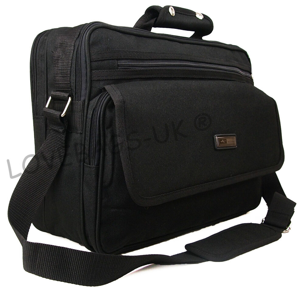 Quality business briefcase laptop luggage pilot work for Laptop cabin bag