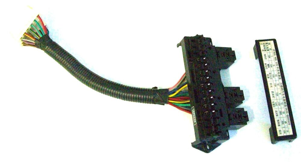 fuse panel box replacement 15 fuse 3 relay 2 - 12 pin ... 2002 f150 fuse relay box diagram aftermarket fuse relay box