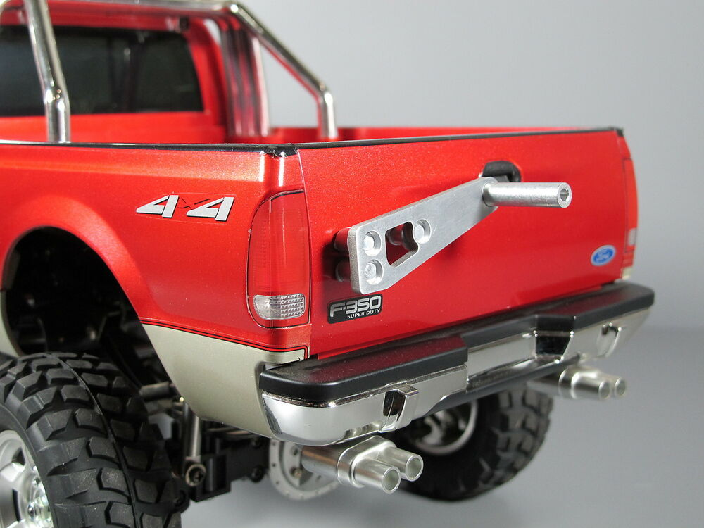 New Aluminum Rear Spare Tire Rack For Tamiya Rc 1 10 Ford