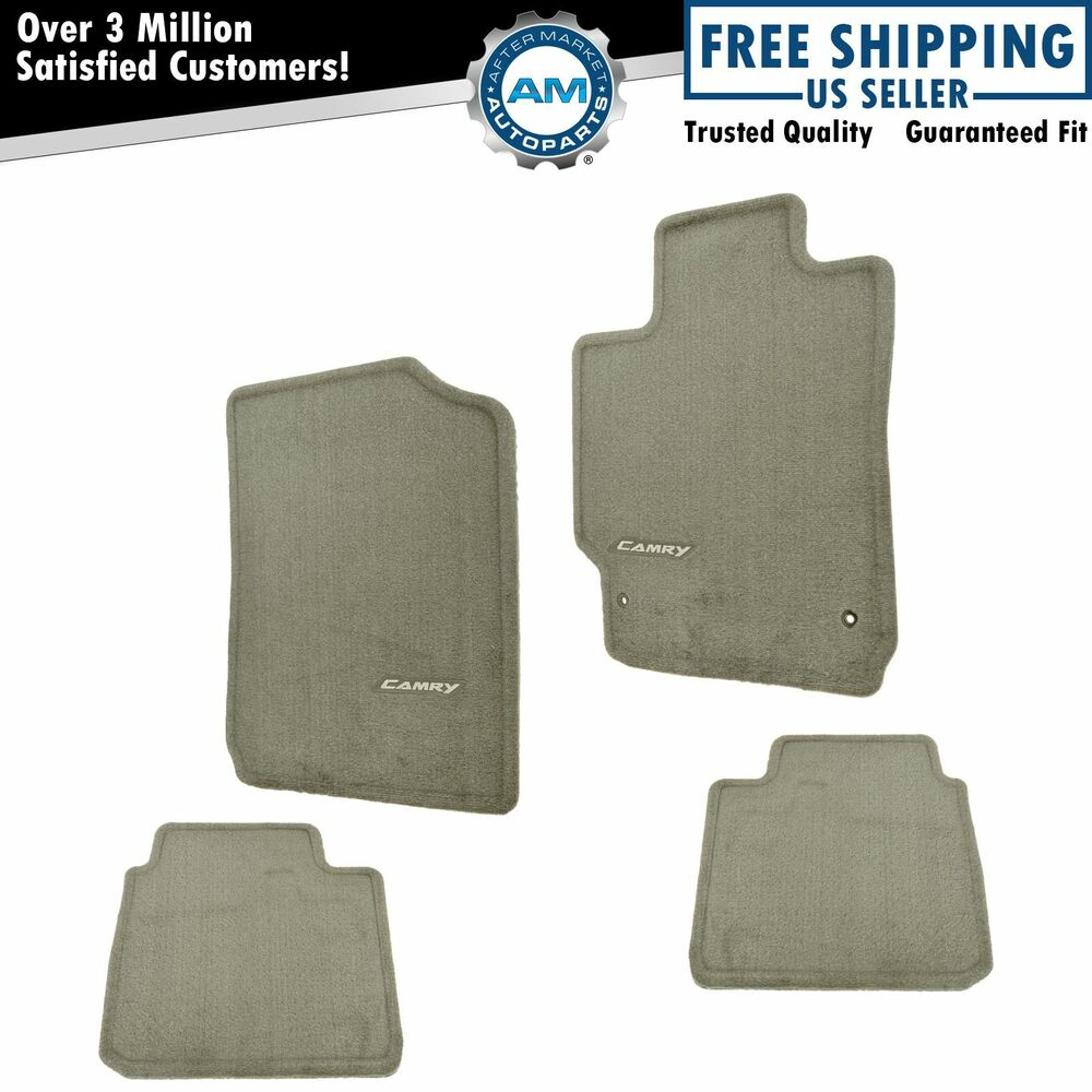 oem pt206 32100 45 floor mat set brown carpeted for 07 11. Black Bedroom Furniture Sets. Home Design Ideas