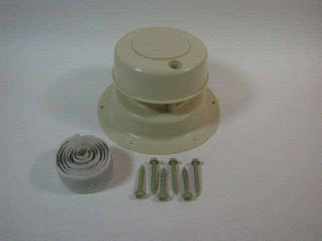 Roof Vent Cap Plastic Mobile Home Rv Parts Almond Camco