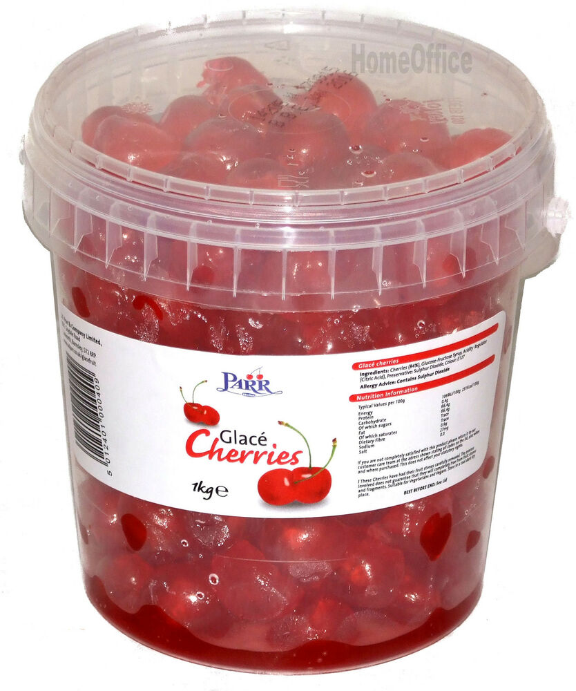 how to say glace cherries