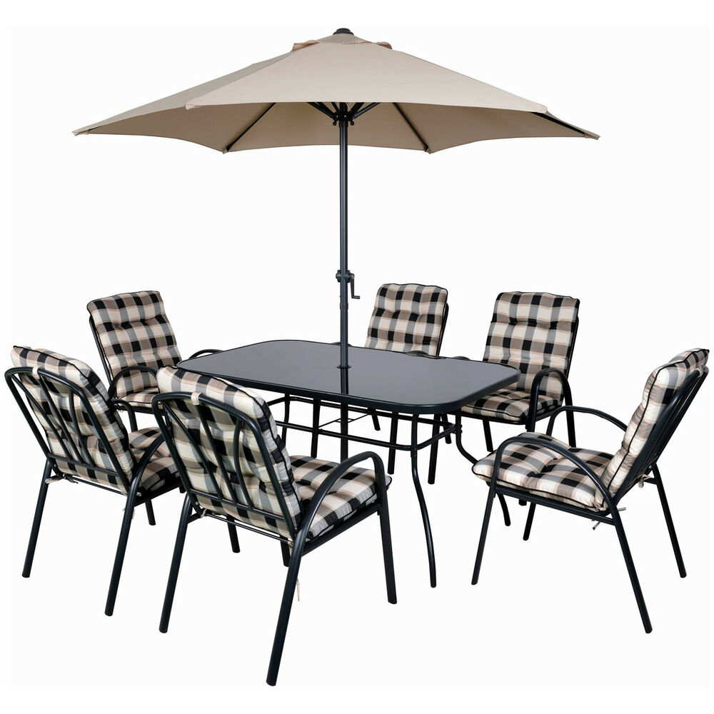 6 seater garden table and chairs garden dining table 6 for 6 seater dining table