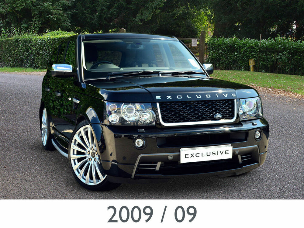 2009 09 land rover range rover sport 2 7 tdv6 stormer se. Black Bedroom Furniture Sets. Home Design Ideas