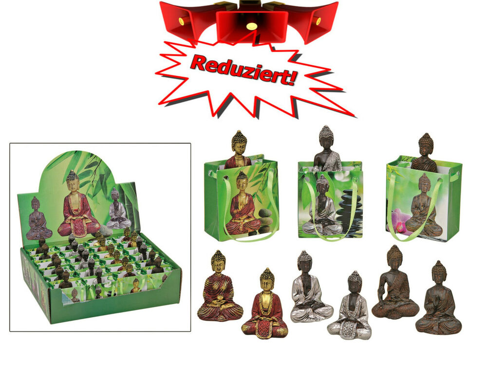 24 x buddha budda figur feng shui gl cksbringer talismann in geschenkt te gold ebay. Black Bedroom Furniture Sets. Home Design Ideas