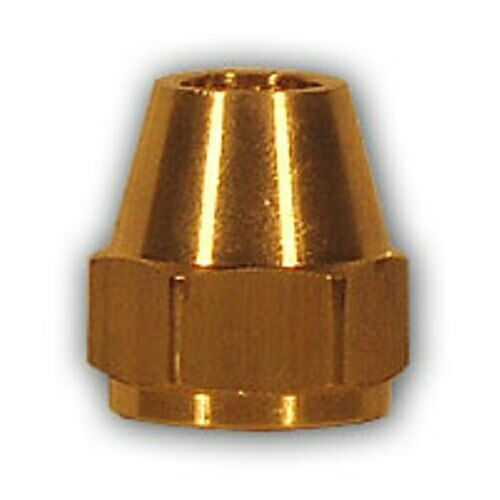 Inch flare nut brass pipe fitting npt soft copper air