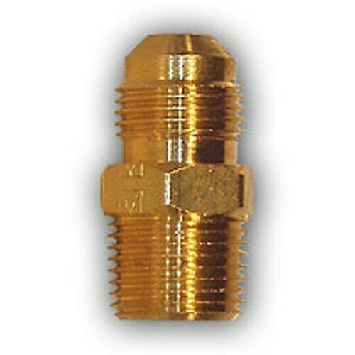 Inch flare male mpt pipe adapter brass fitting