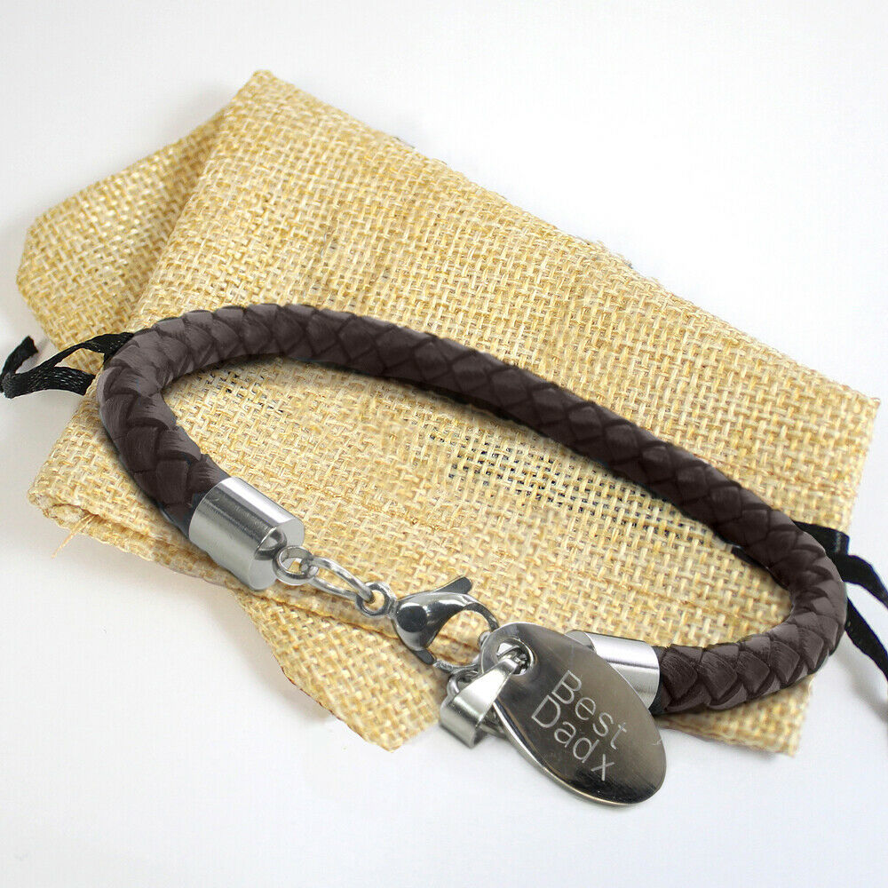 leather bracelets for engraved www imgkid the