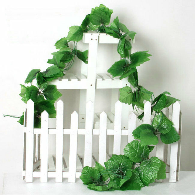 81 feet artificial grape leaf garland faux vine home decor for Artificial grape vines decoration