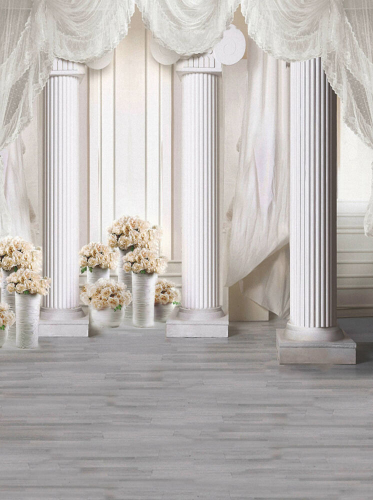 Photography Backdrop Palace Pillars Photo Studio