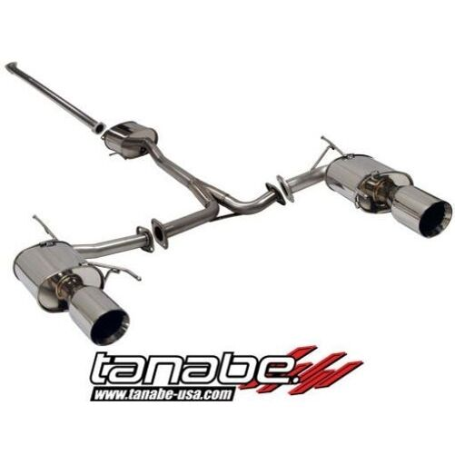 Tanabe Medalion Touring Cat-Back Exhaust 2004-2008 For
