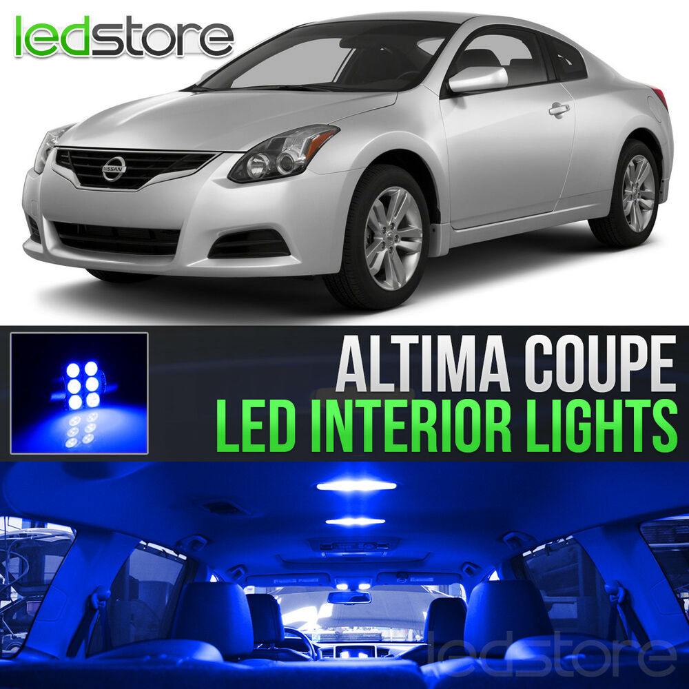 Blue Led Lights Interior Kit For 2008 2013 Nissan Altima