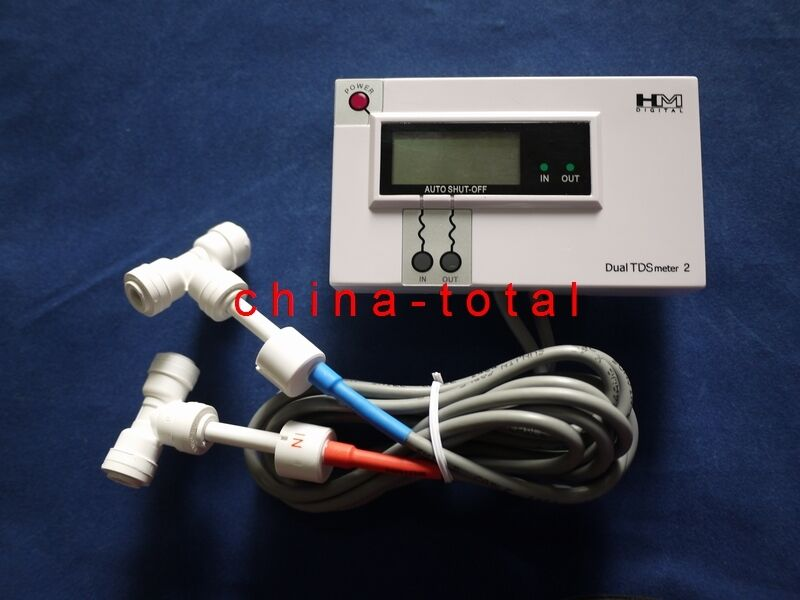 In Line Conductivity Meter : Hm digital dm in line dual tds monitor meter for ro