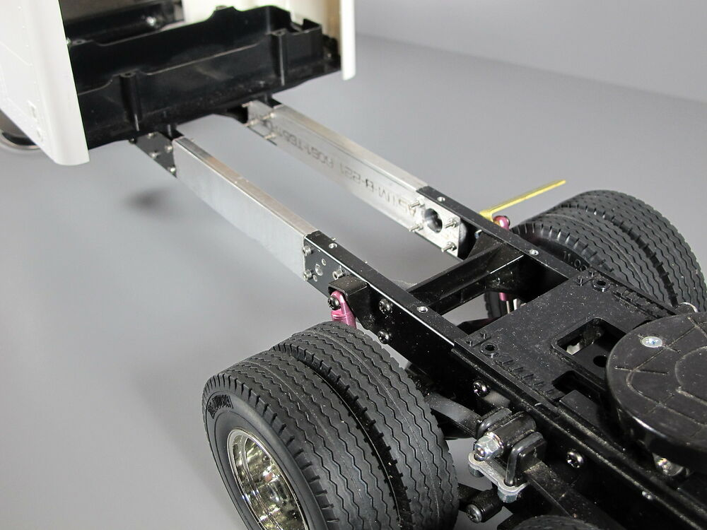 Custom Aluminum 3 Inches Frame Extension Tamiya Rc 1 14