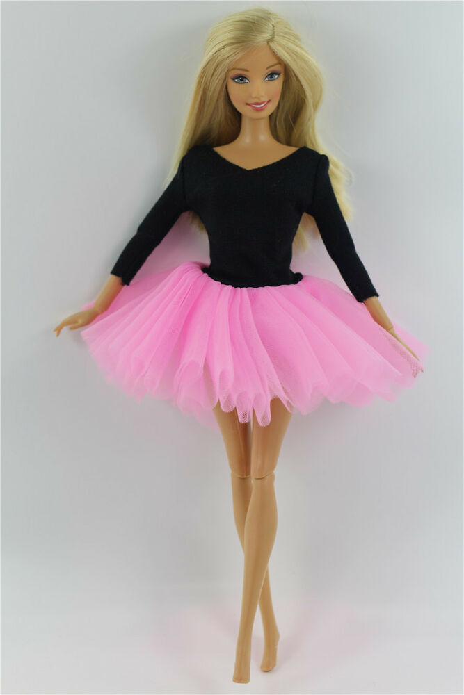 Fashion Handmade Ballet Dress Clothes Outfit For Barbie Doll L04