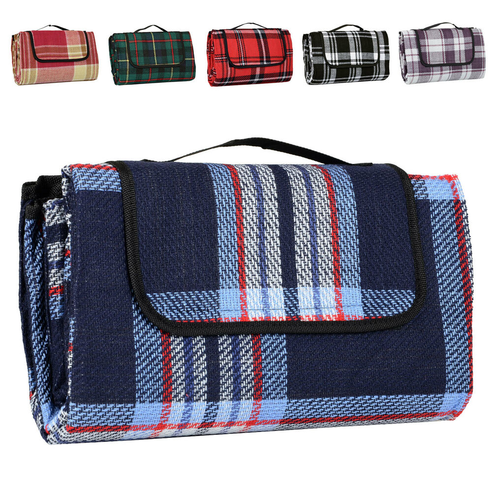 Acrylic Picnic Blanket Car Travel Camping Waterproof Mat