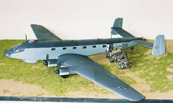 airmodel products 1 72 junkers ju 290 german wwii transport vacuform kit ebay. Black Bedroom Furniture Sets. Home Design Ideas