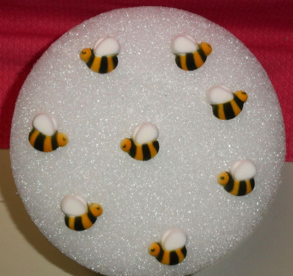 Bees,Edible Cupcake Topper,DecoPac,8 ct.Cake Decoration ...