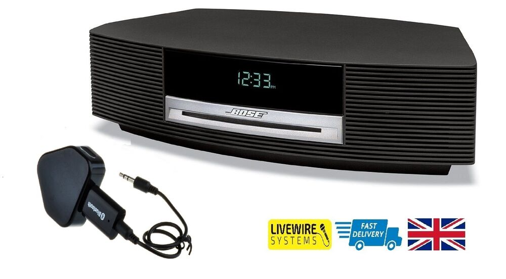 bluetooth adapter for bose wave radio bose wave music system ebay. Black Bedroom Furniture Sets. Home Design Ideas