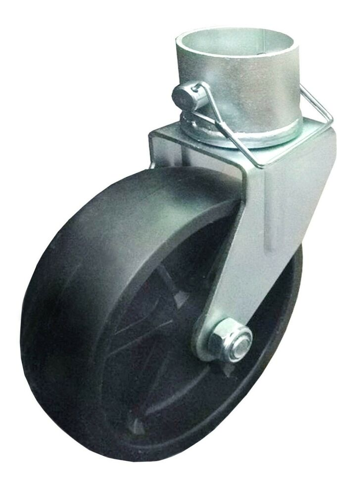 New 6 Quot Trailer Swirl Jack Caster Wheel With Pin 26024 Ebay