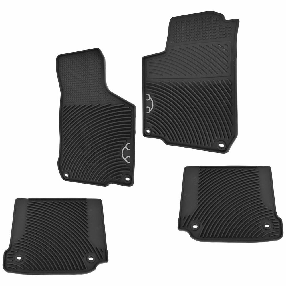 Oem Monster Molded Rubber Floor Mats For Vw Volkswagen