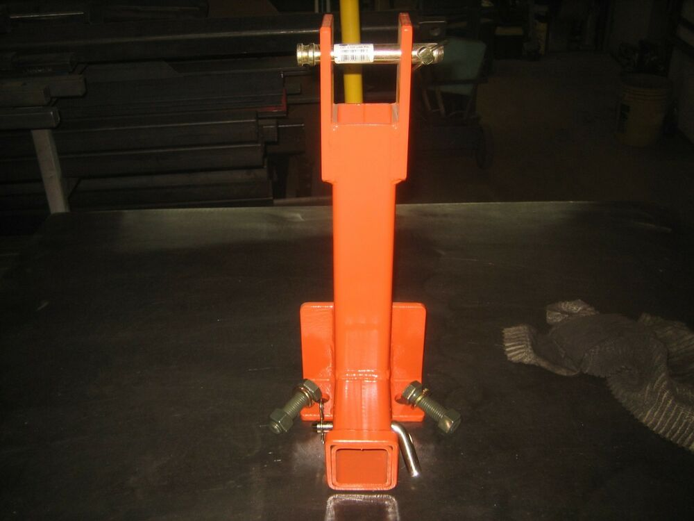 Tractor Trailer Hitch Draw Bar : Point heavy duty draw bar trailer hitch for kubota