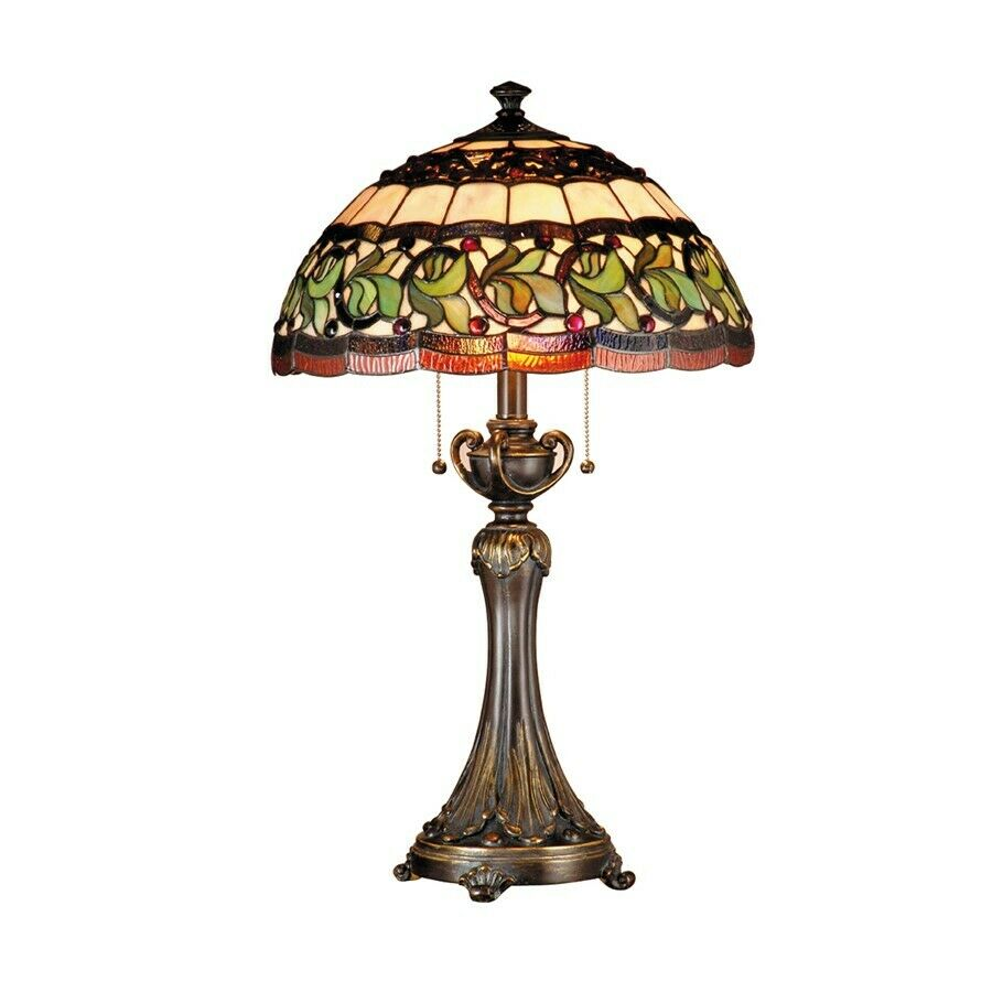 Dale tiffany aldridge table lamp antique bronze for Archimoon k table lamp