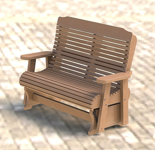 Wooden Double Glider/Rocker Building Plans - Easy to Build ...