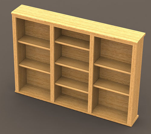 Cd Dvd Shelf Woodworking Paper Plans Building Plans Only