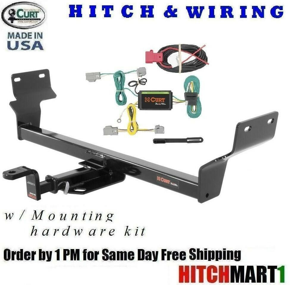fits 2015 chrysler 200 class 1 curt trailer hitch wiring